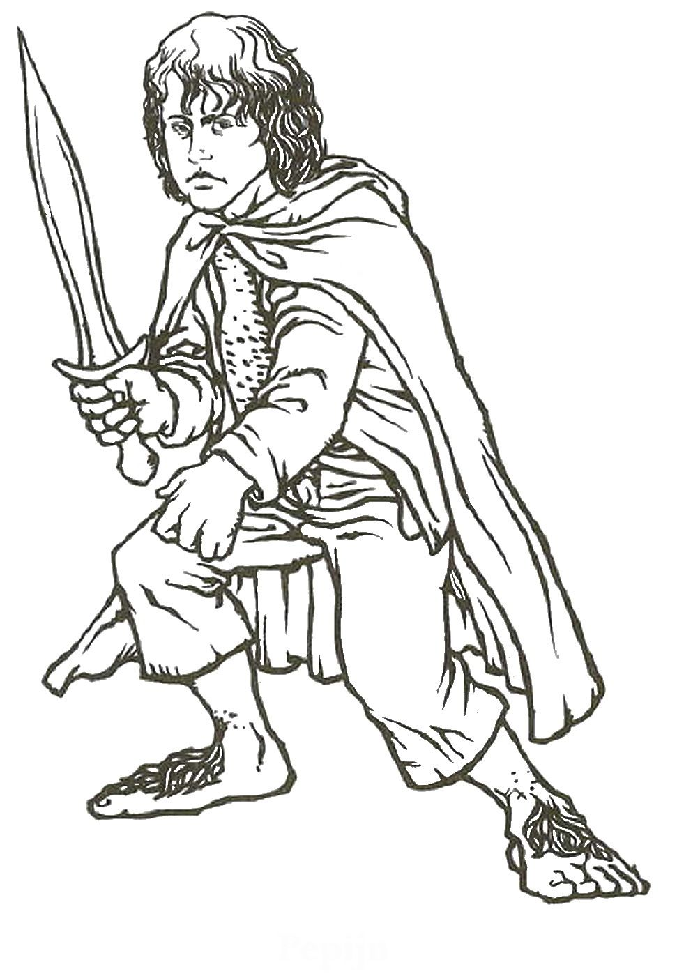 lord_of_the_rings_cl10.jpg (971×1400) | Coloring Pages | Pinterest