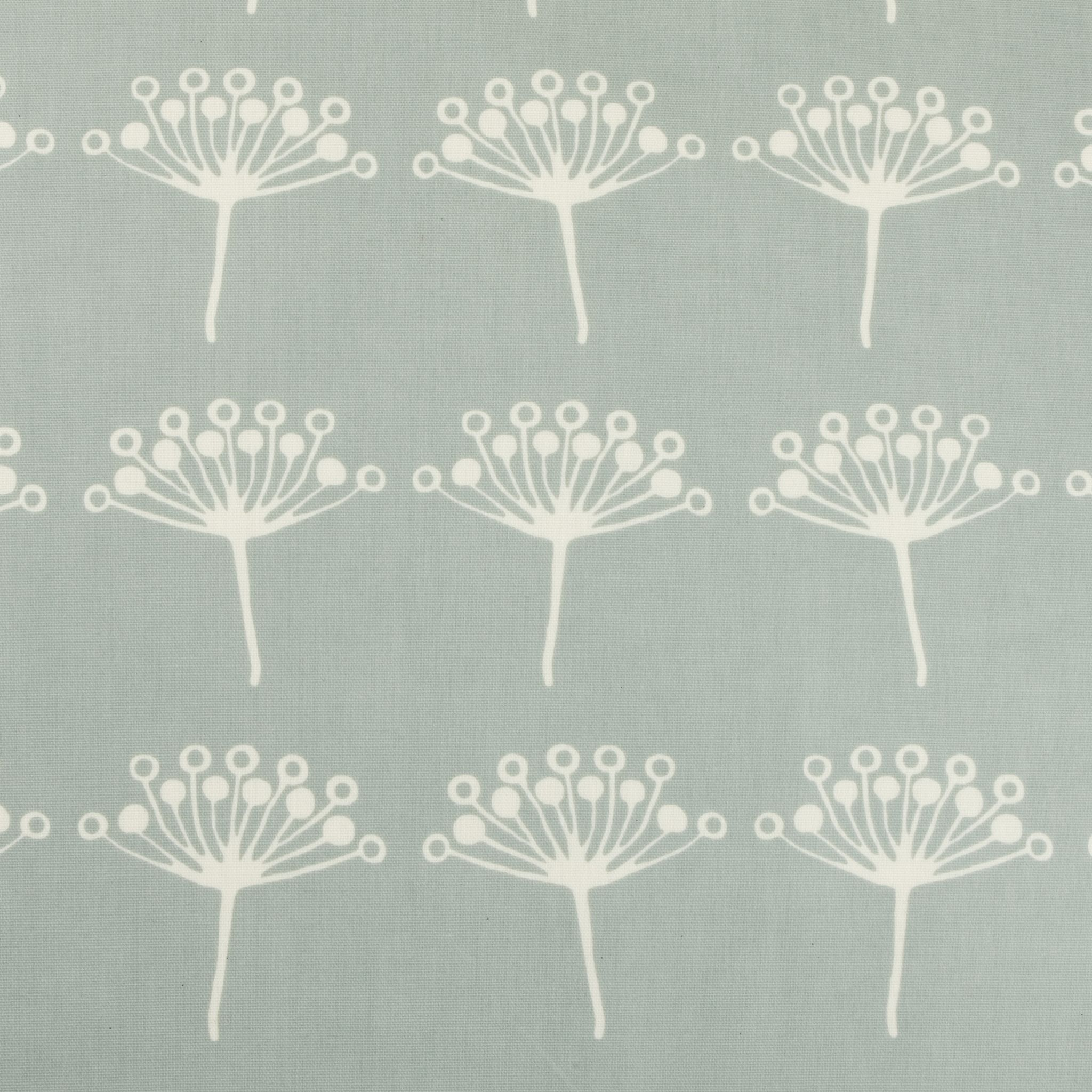 Duck Egg Seed Flower Oilcloth Tablecloth   Contemporary Oilcloth Fabric