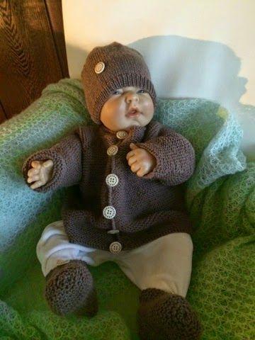 Hege`s småstrikkerier: Baby sett