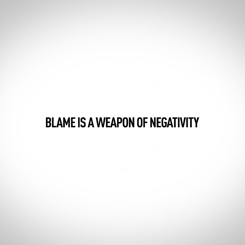Rather the bullets for negativity.