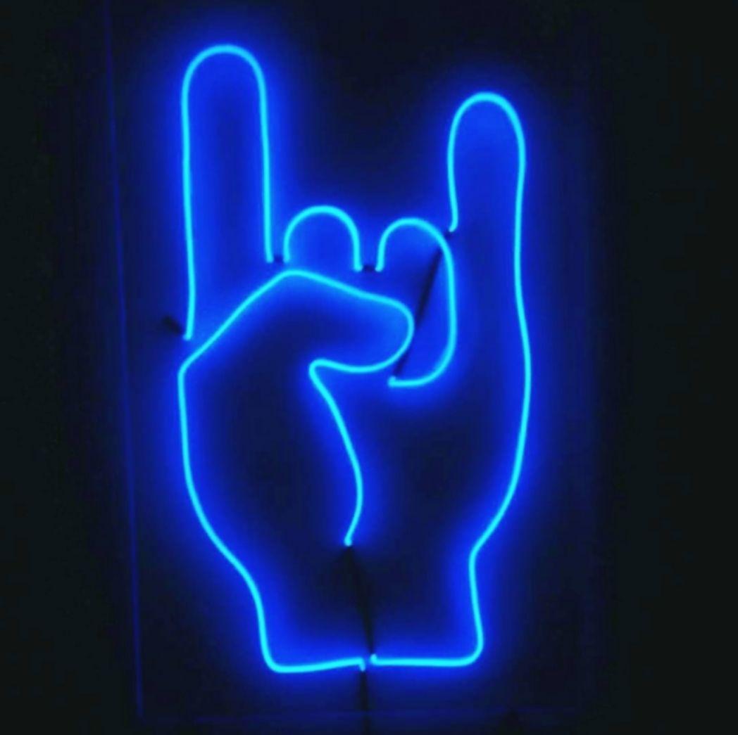 14 Wallpaper Blue Aesthetic Neon Neon Wallpaper Light Blue Aesthetic Blue Aesthetic