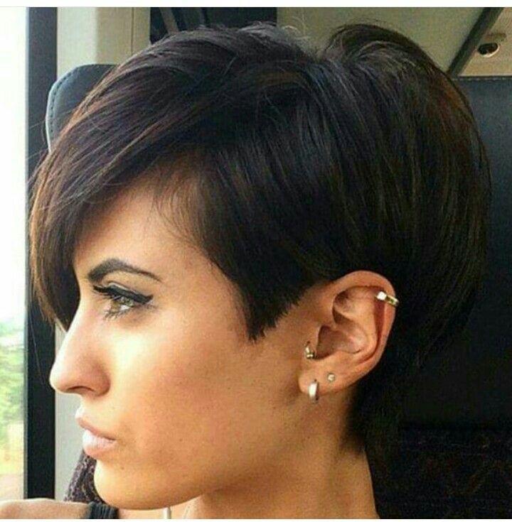 Short haircuts for bigger women