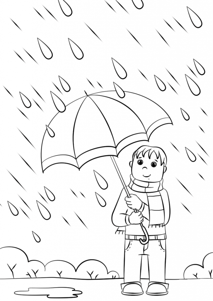 Rain Coloring Pages Best Coloring Pages For Kids Umbrella Coloring Page Free Coloring Pages Coloring Pages For Boys