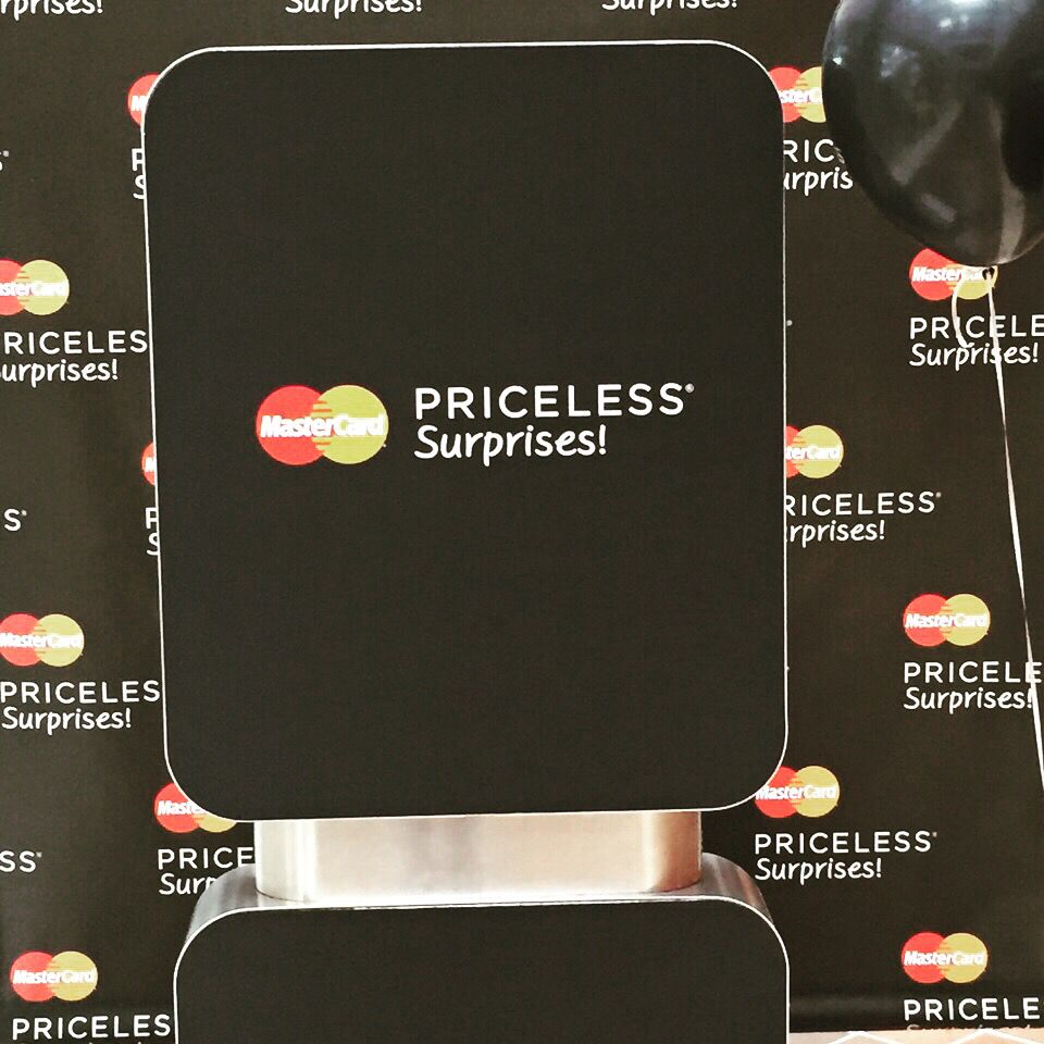 MasterCard event with sharingbox