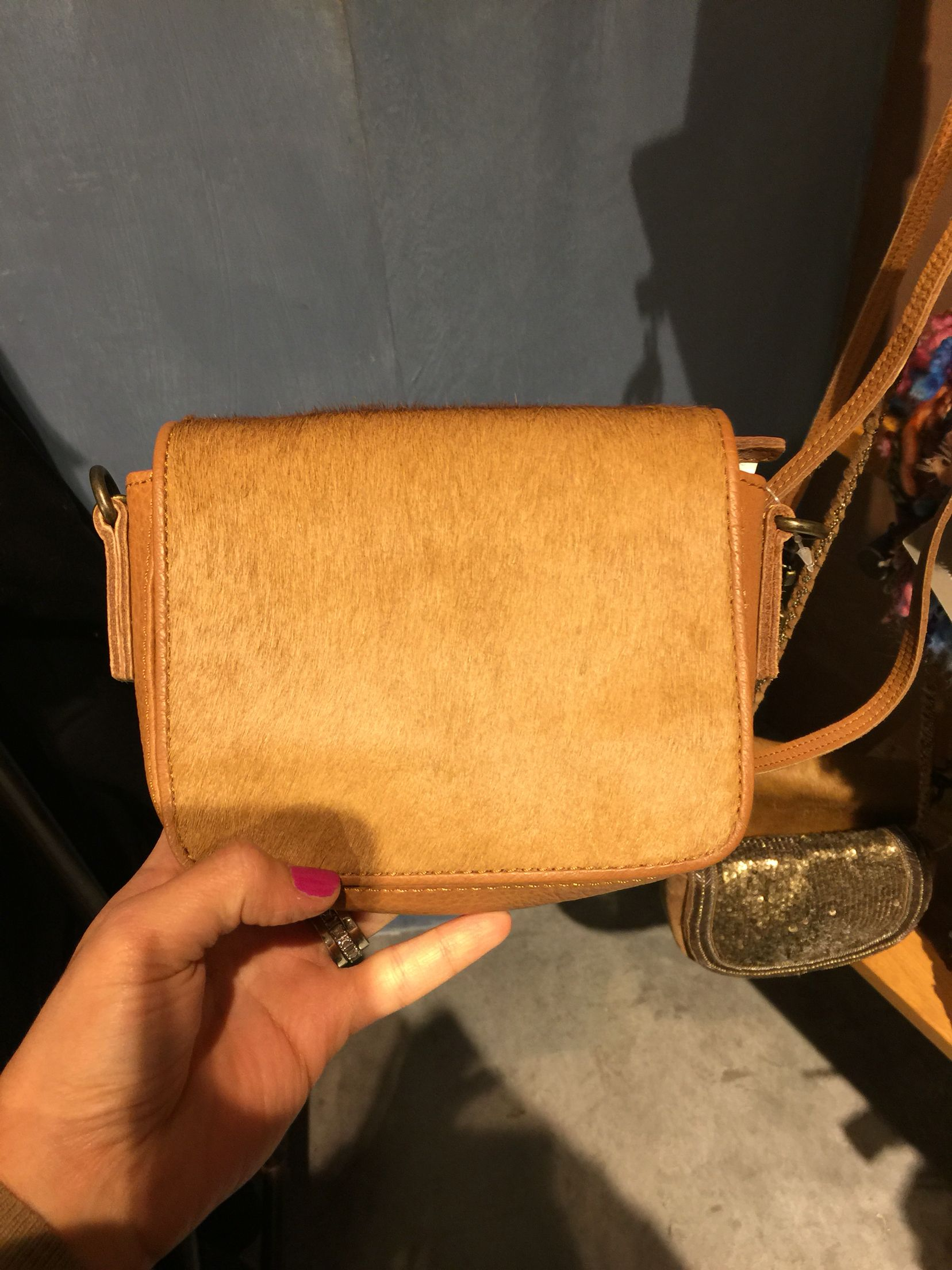 Touch of fur small bag