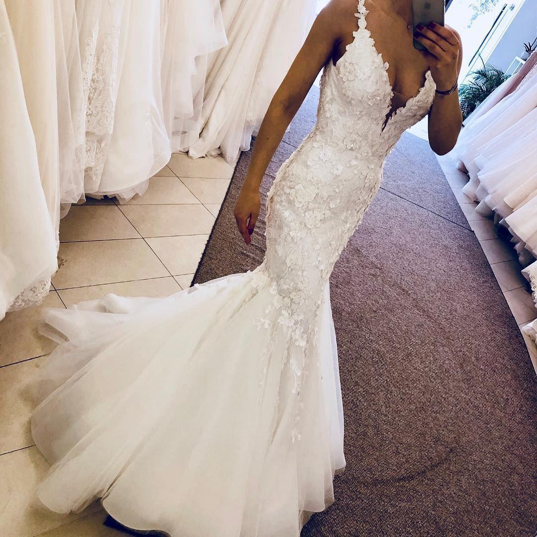 Pin On Mermaid Wedding Dresses [ 1080 x 1080 Pixel ]