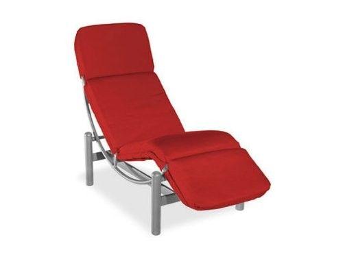 Cirque Aluminum Cushion Side Chaise Lounge Homecrest Outdoor