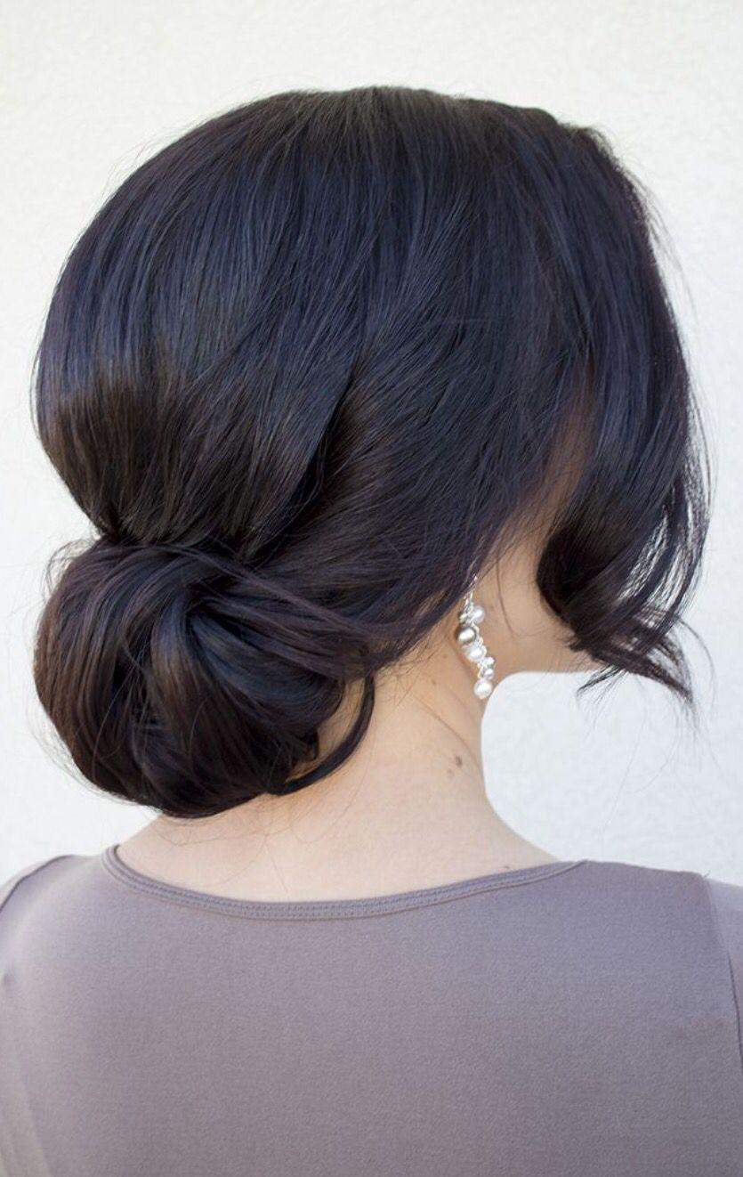 Chignon hair pinterest hair style weddings and updo