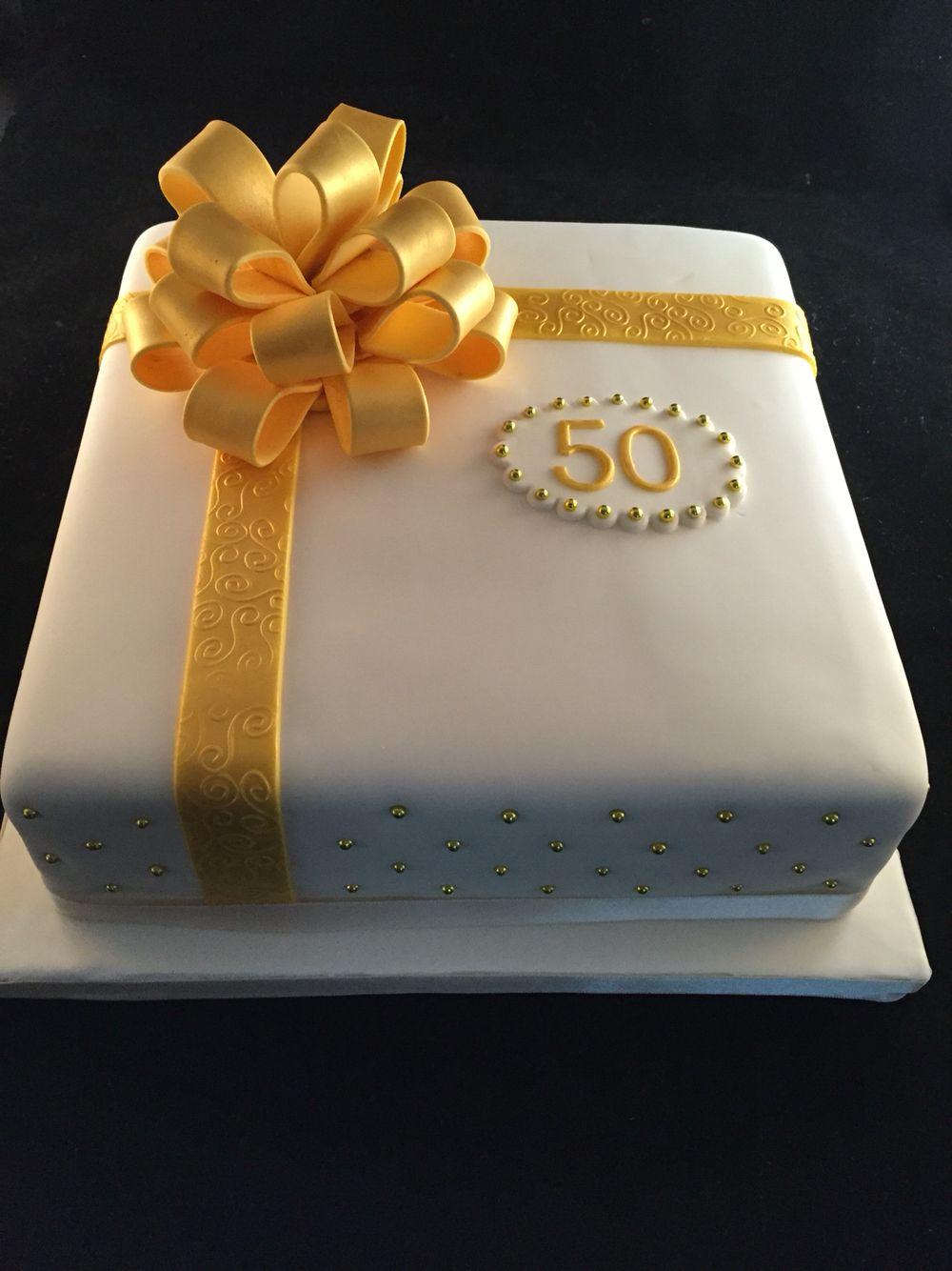 Bekend 50 jaar getrouwd taart | EMIJOS | Taart ideeën, Taart bruiloft @QT29
