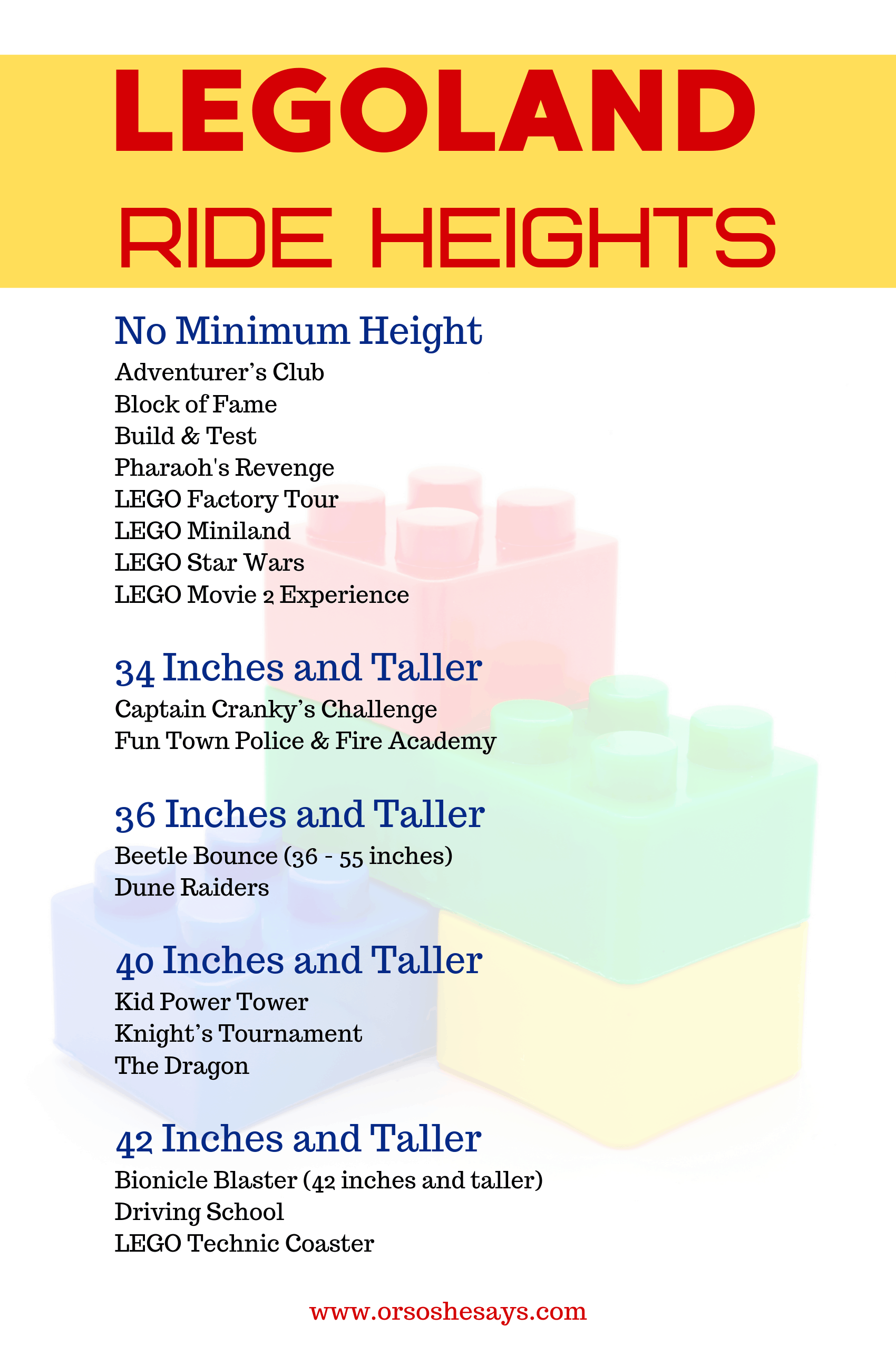 Legoland Family Vacation Ride Heights Hotels Discount