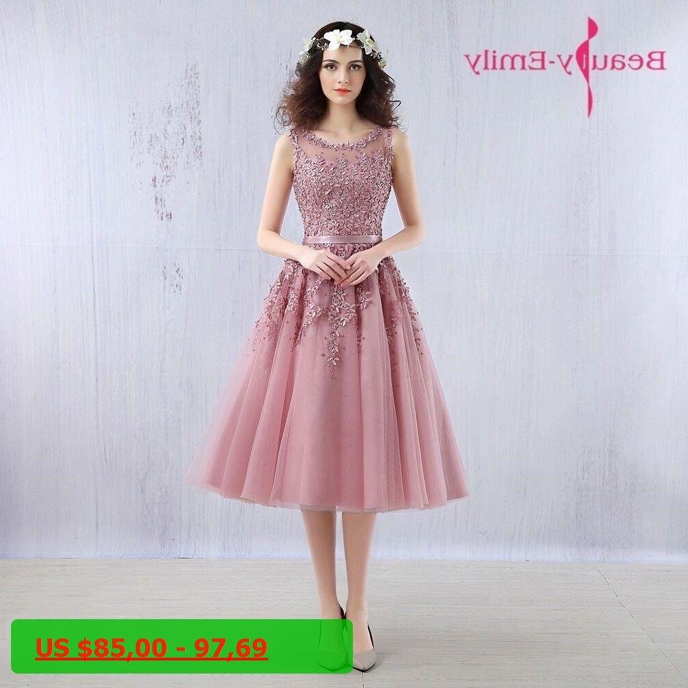 c491be540 2017 Short Bridesmaid Dresses Embroidery Beaded Lace Wedding Bridal Prom  Dress Party Dresses Robe De Soiree. Vestido De FiestaVestidos ...