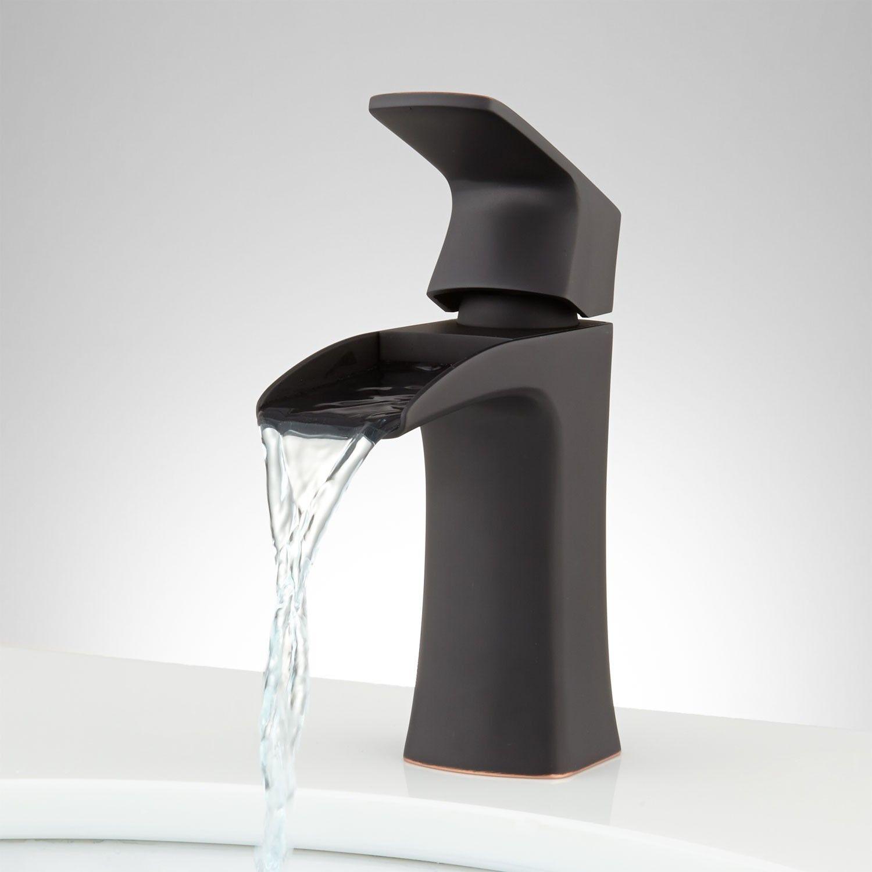 Quintero Single-Hole Waterfall Faucet - Single-Hole Faucets ...
