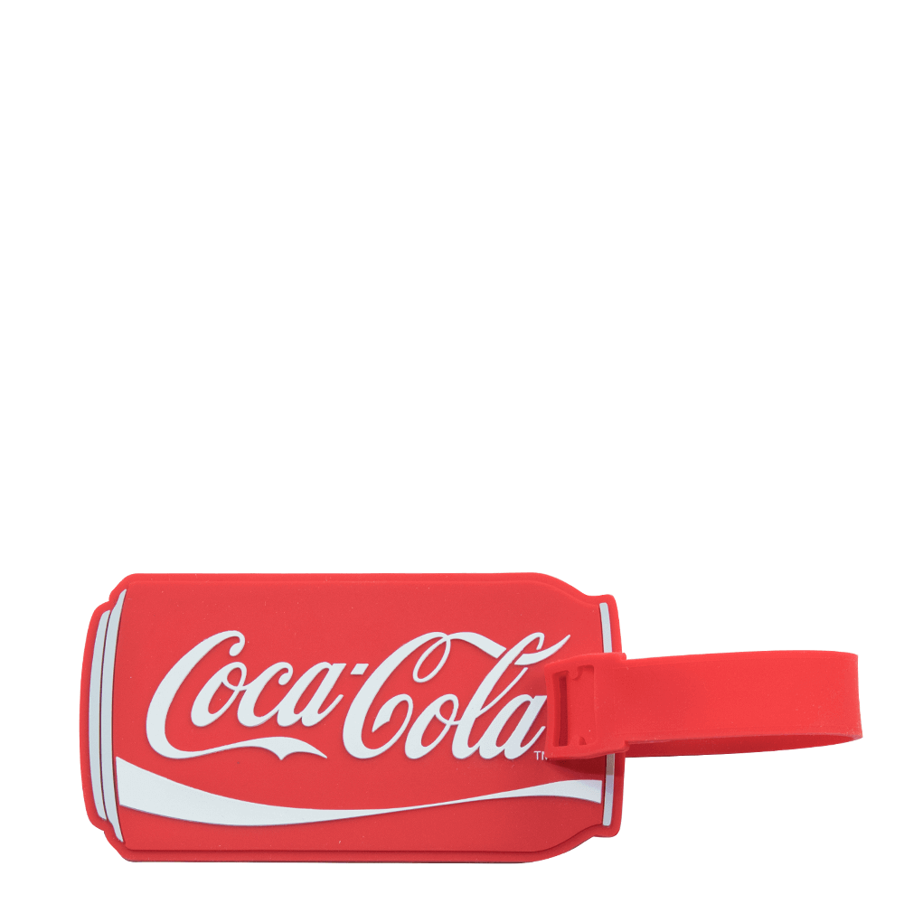 Authentic Coca-Cola Coke Zero Can Luggage Tag New with Tags