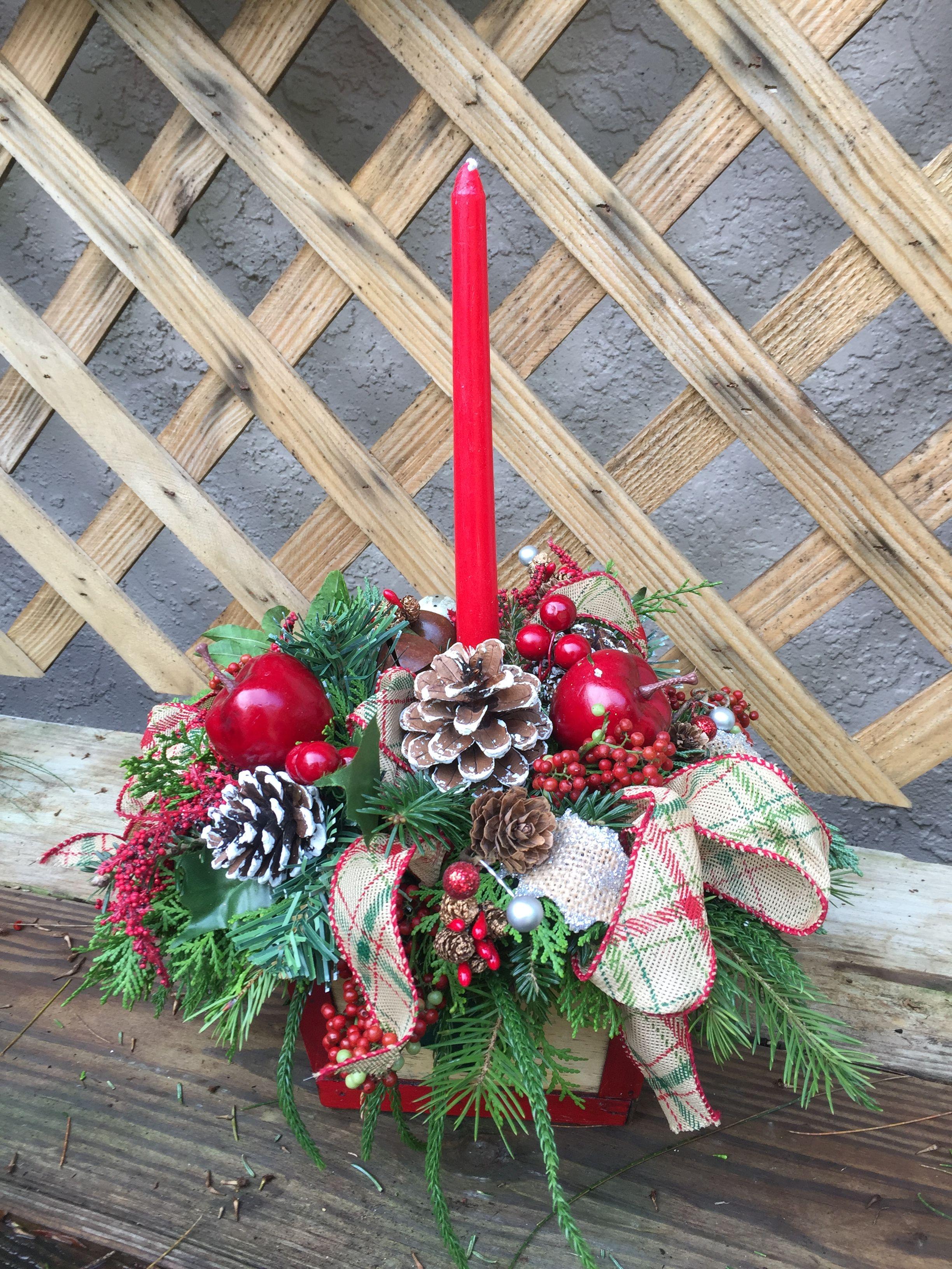 Winter Floral Arrangementschristmas Arrangementssunflower Table Arrangementssilk Arrangementsdecorate Fireplace For Christmaschristmas Tree With Meshoutdoor