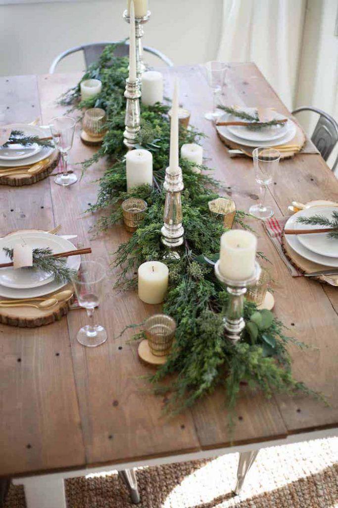 25+ Ideen für deine ultimative Tischdeko zu Weihnachten – blogalong.de