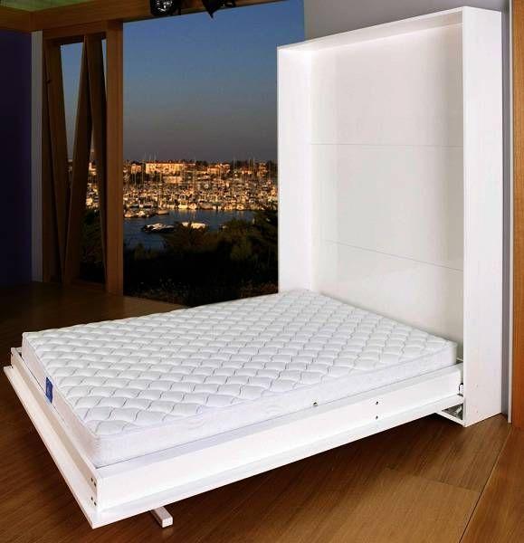 lit armoire escamotable slim lit
