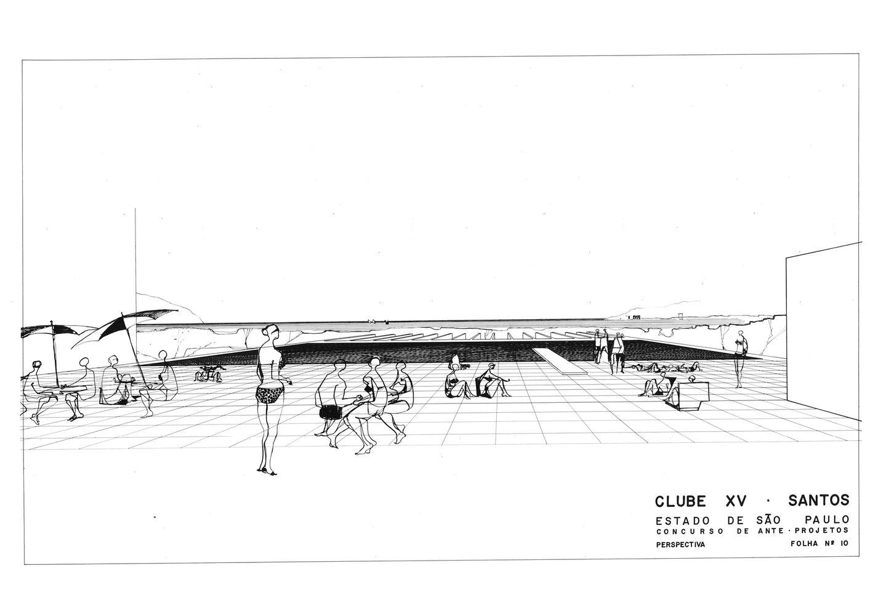 Clássicos da Arquitetura: Clube XV,© Arquivo F. Petracco