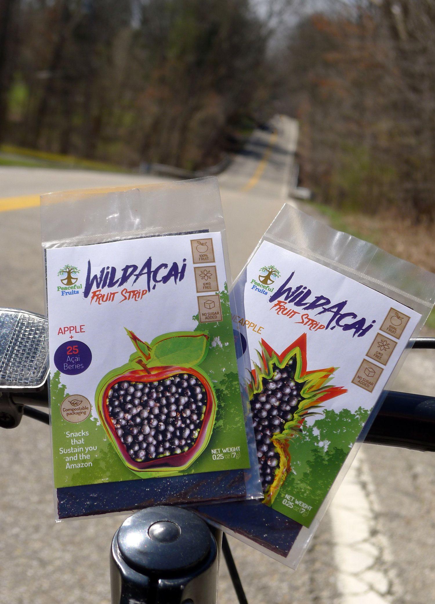 delicious healthy rainforest acai fruit strips snacks