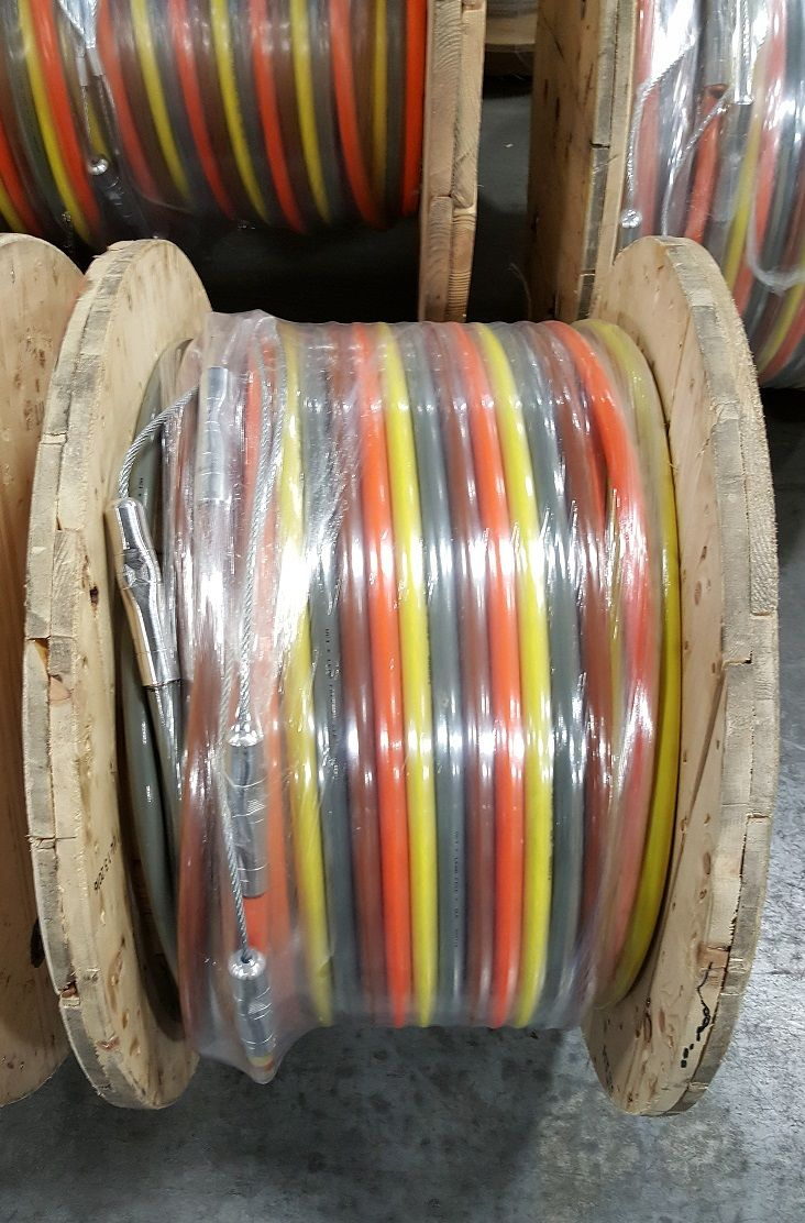 500MCM High Voltage Parallel w/Pulling Heads #ace #acewire #wire ...