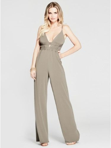 bf08a1b6f80 Guess by Marciano Women s Melynda Sleeveless Jumpsuit