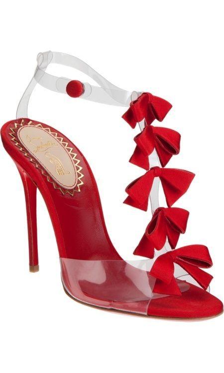 383b3ba9cd9 Christian Louboutin Hot Red Heels