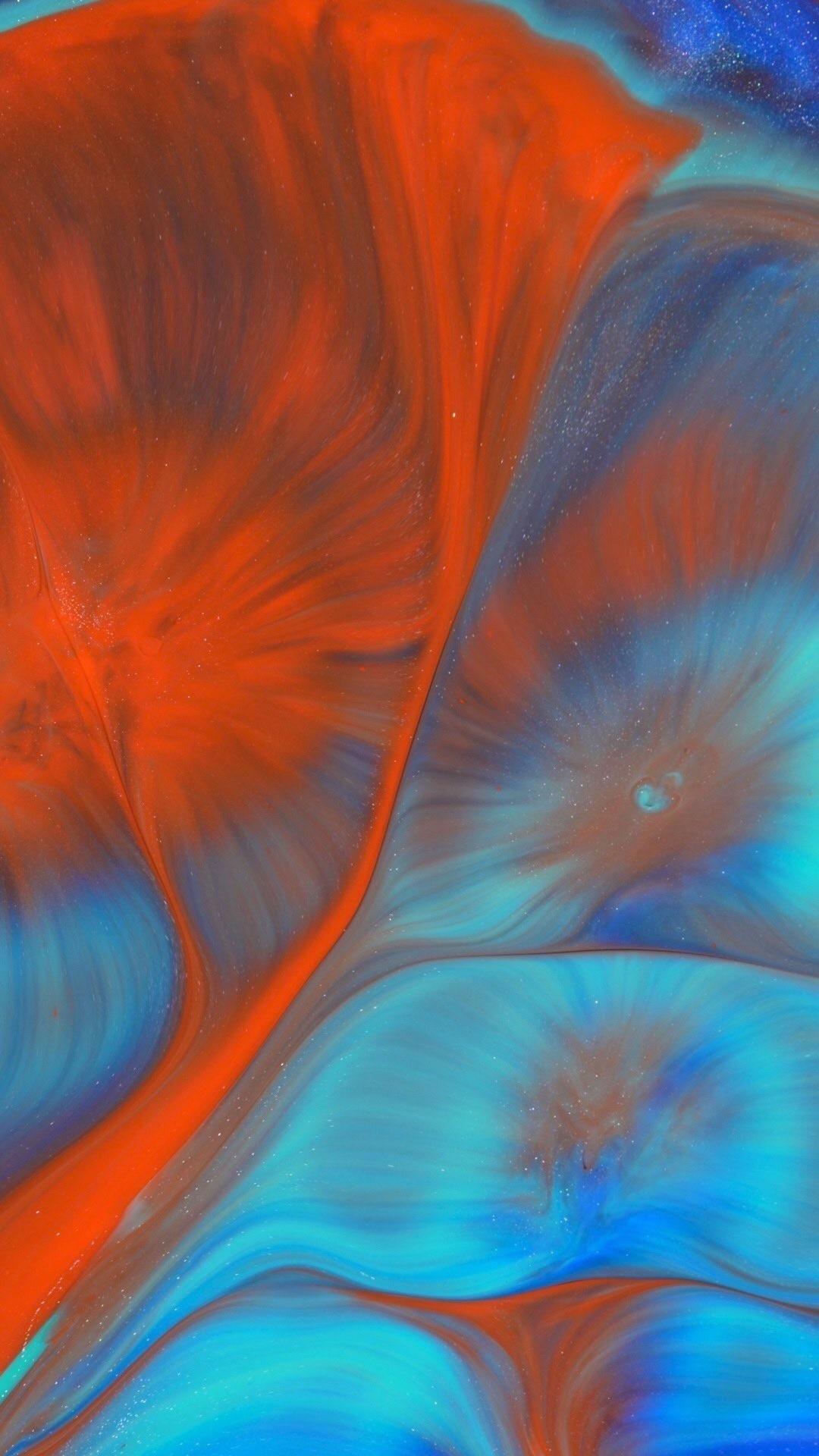 Liquid Wallpaper Orange Wallpaper Colorful Wallpaper