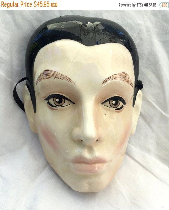 Porcelain Masks Decoration Unique September Sale Vintage Mask Cast Of Thousands Porcelain Ceramic Design Ideas