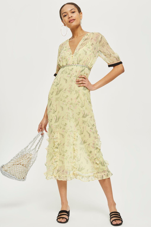 5793303111 Rodeo Print Midi Dress - Dresses - Clothing - Topshop USA