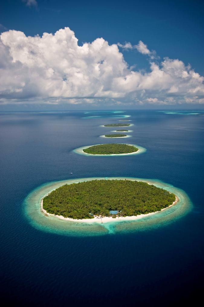 Baa Atoll Maldives. One of 26 atolls that make up the Republic of Maldives. The Baa Atoll consists of local, uninhabited and resort islands.
