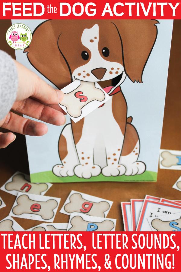 Dog Activities For Preschool And