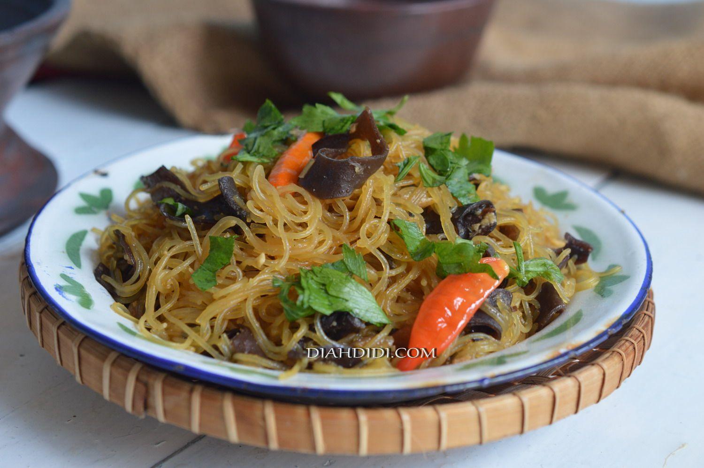 Resep Bihun Goreng Sederhana Resep Masakan Masakan Resep Makanan Cina