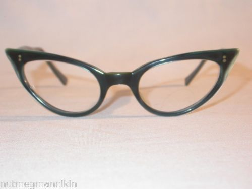 c565afed28 Vintage Universal Carla Leidecker Wildcat UOC Cats Eye Sunglasses Eyeglass  Frame
