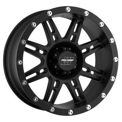 Pro Comp 31 Series Stryker Matte Black Alloy Wheels