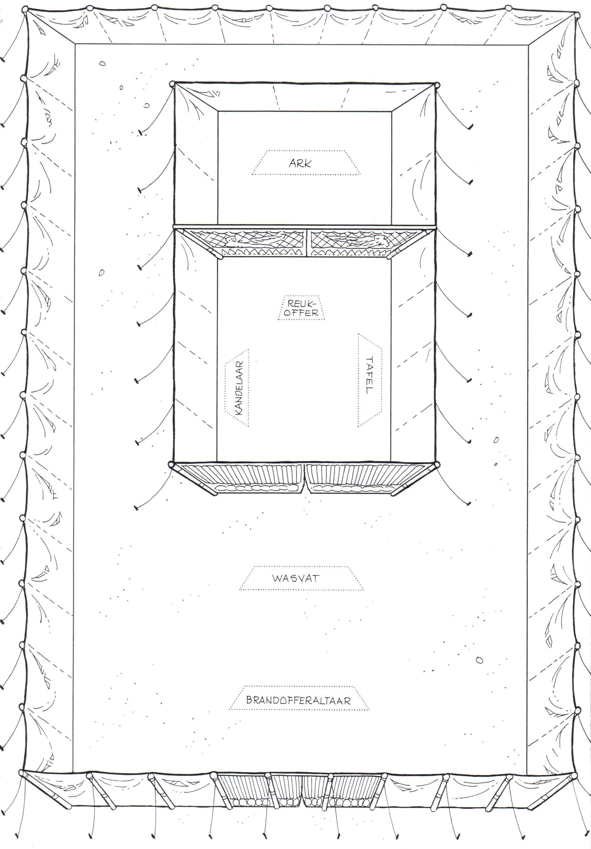 Tabernacle Printable