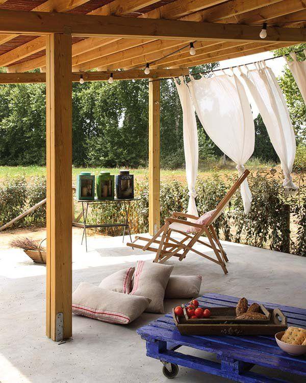 Telas frescas para vestir tu jardín y terraza | Pinterest | Telas ...