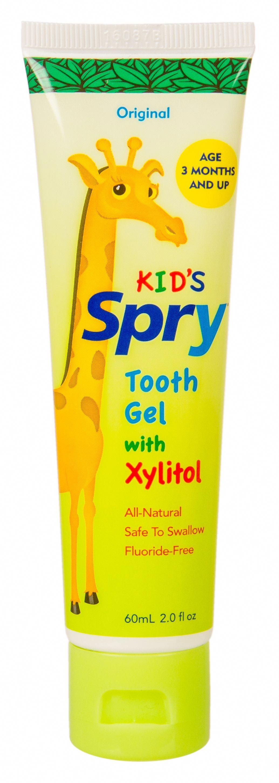 Kids Xylitol Tooth Gel Original Fluoride Free 3 x 2