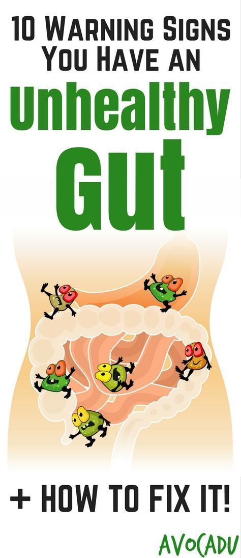 10 Warning Signs You Have an Unhealthy Gut and What to do About It.