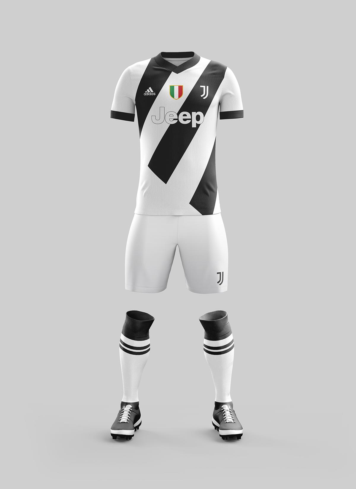 Juventus FC Home Kit Concept - 2017-2018 Season on Behance ... 07bf0e01b3d3d