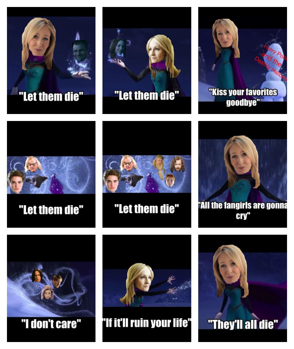 Why do you bring me so much pain Rowling?