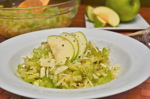 Celery and Apple Salad: A Healthy Jalapeno