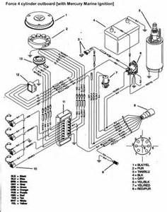 coil wireing diagram for a 470 marine engine clint s boat parts rh pinterest com Marine Diesel Engine Turbo Diagram 327 Marine Engine Crankshaft