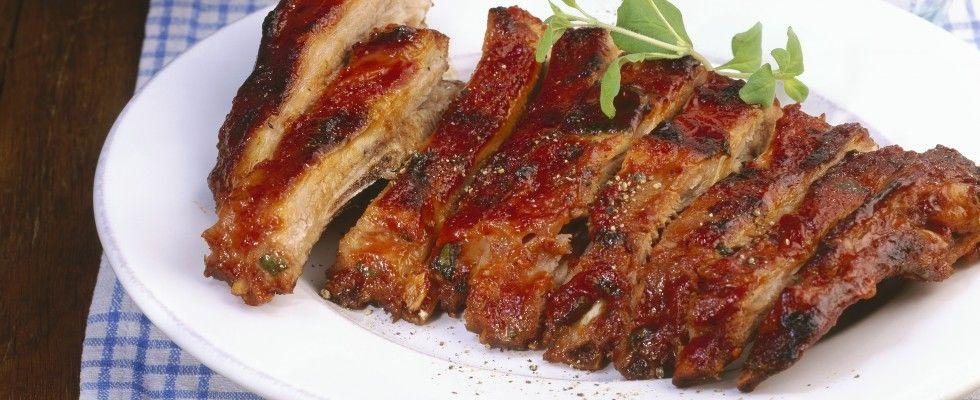 costine di maiale al forno | eres lo que comes | pinterest - Come Cucinare Le Puntine Di Maiale