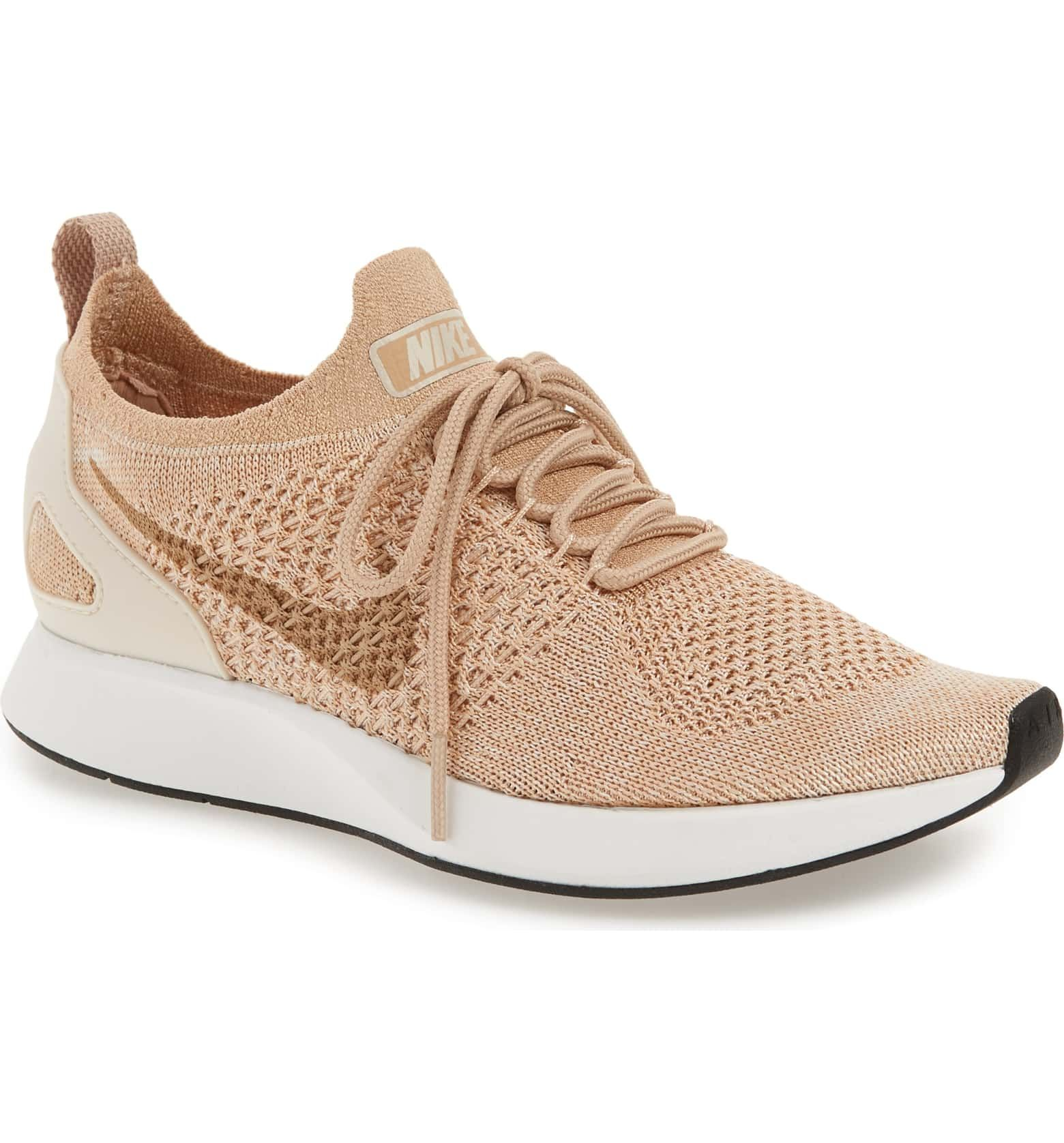 more photos 75030 17c84 Air Zoom Mariah Flyknit Racer Sneaker, Main, color, BIO BEIGE/ GUAVA ICE