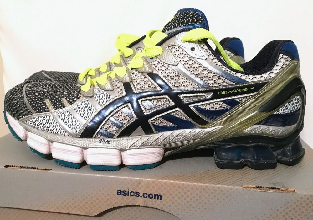 new concept d27a1 dae31 ASICS GEL KINSEI 4 NAVY   DRESS BLUE MENS SIZE 13 RUNNING SHOES  ASICS   AthleticSneakers