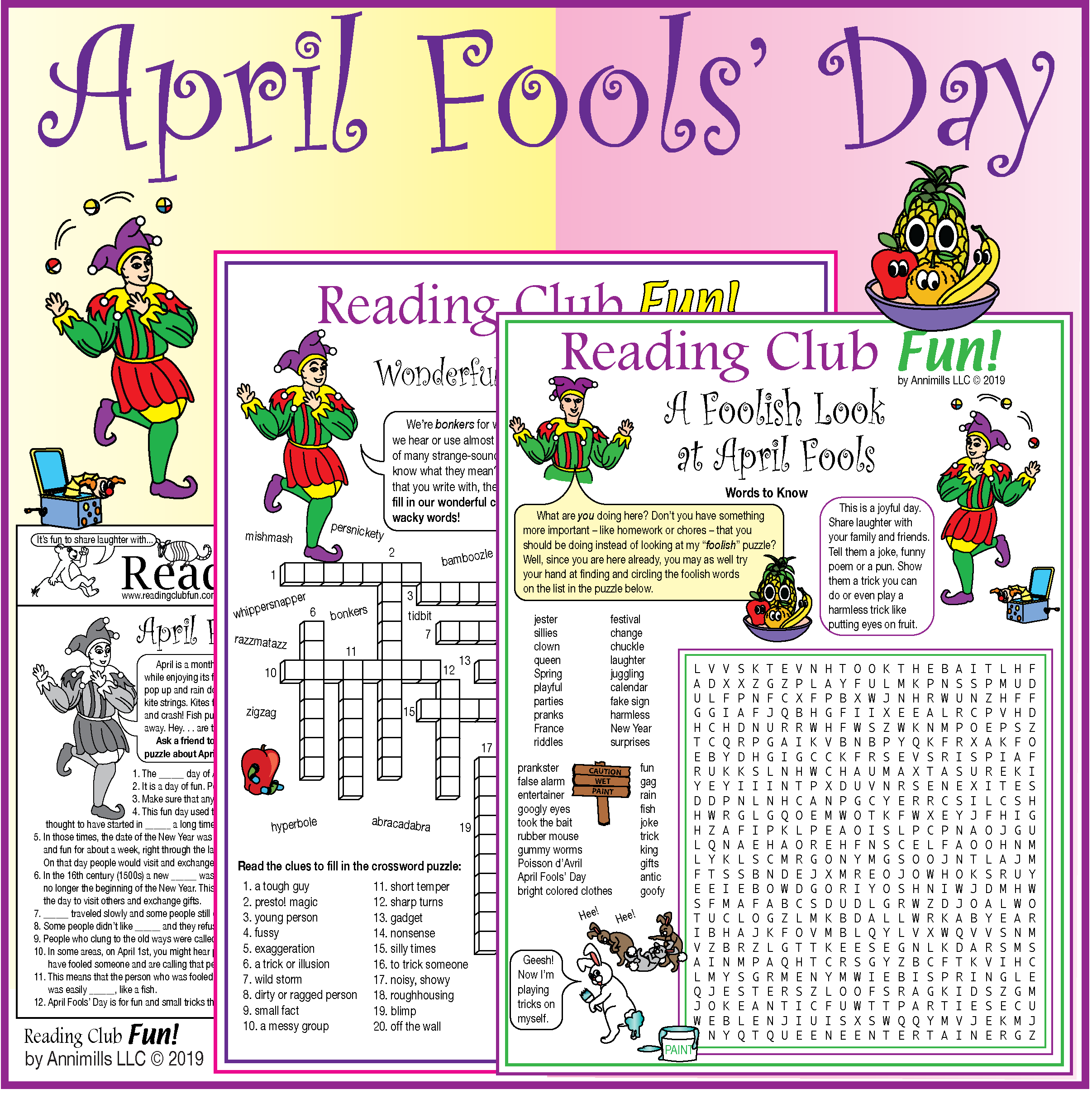 April Fools Day Puzzle Pack