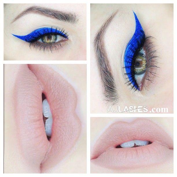 Royal Blue Liner @Aj Lashes