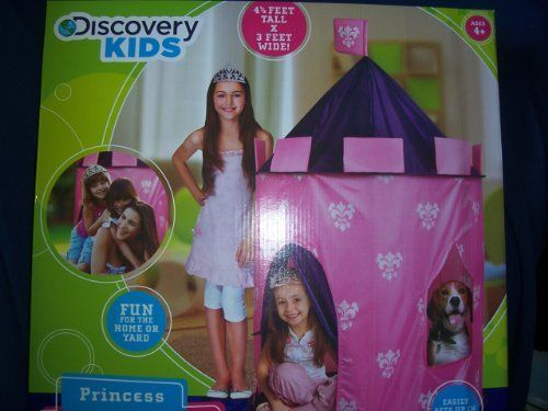 Discovery Kids Princess Play Castle by Discovery Communications. $32.50. Corded Tent Poles. Hours  sc 1 st  Pinterest & Discovery Kids Princess Play Castle by Discovery Communications ...