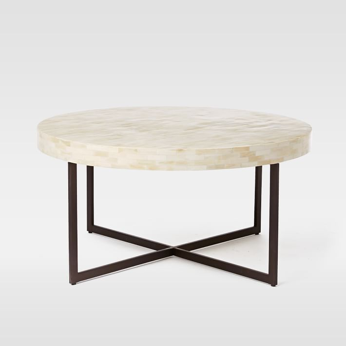 Low Bone Coffee Table west elm DIY FOR THE HOME Pinterest
