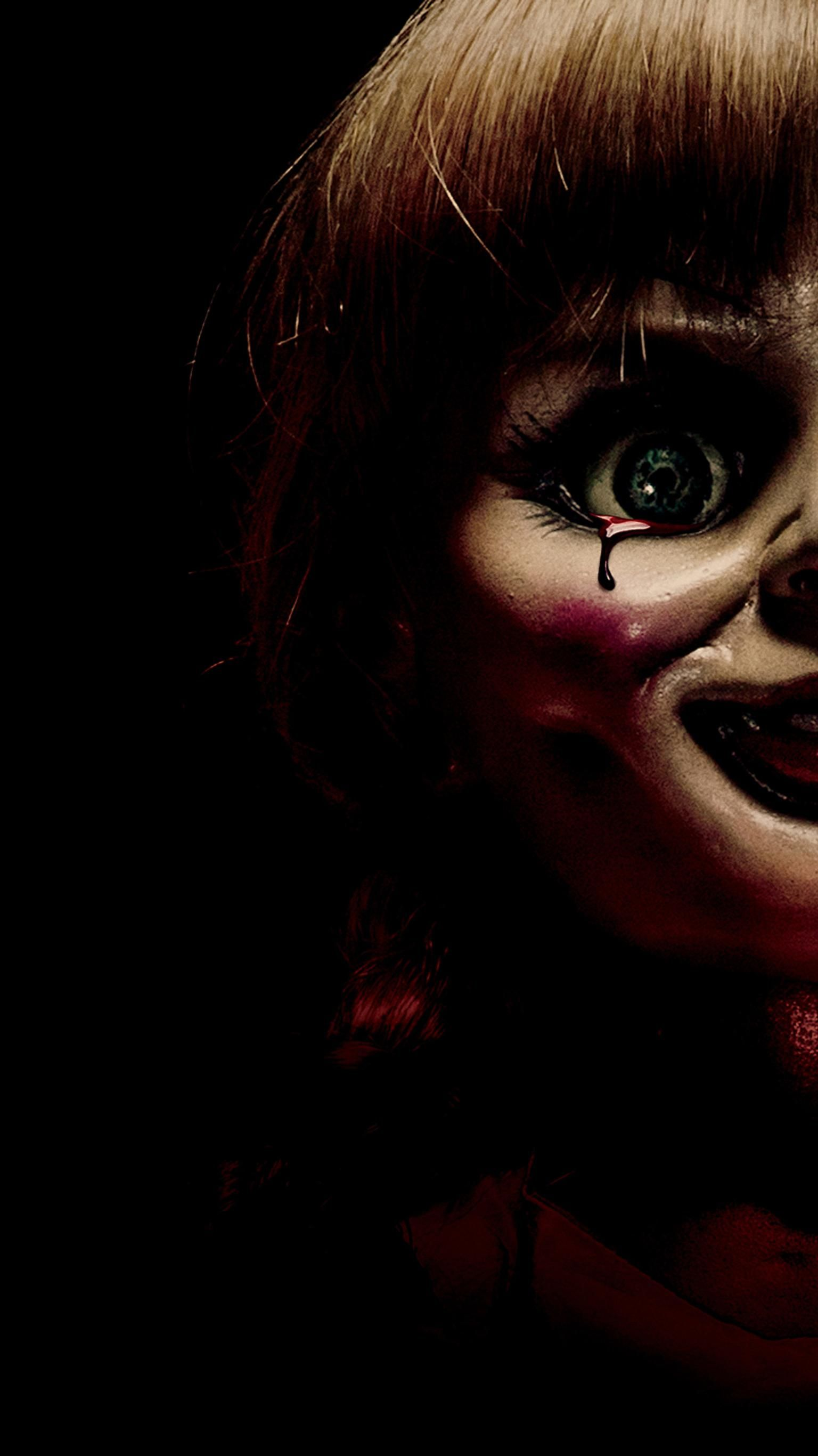 Annabelle 2014 Phone Wallpaper Moviemania Horror Movie Posters Horror Artwork Halloween Wallpaper Iphone