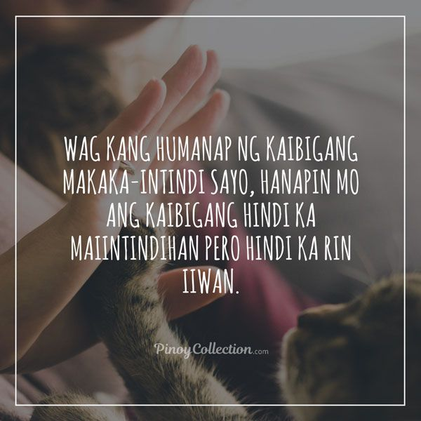 Tagalog Friendship Quotes: 50+ Inspiring Friendship Quotes ...